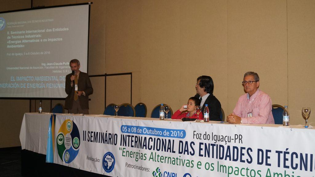 Jean-Claude Pulfer e os mediadores Julio Torales e Luís Améndola