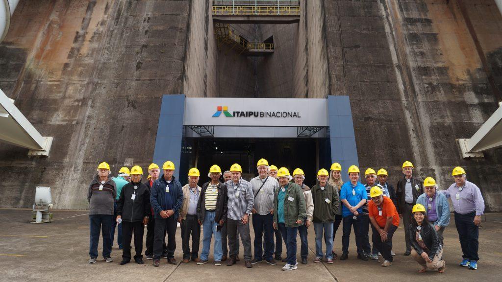 Visita técnica à Usina Hidrelétrica Itaipu Binacional: uma usina movida pela força técnica