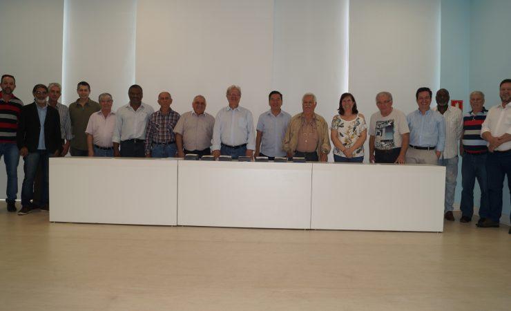 : Integrantes da diretoria eleita do SINTEC-SP para a gestão 2016/2021
