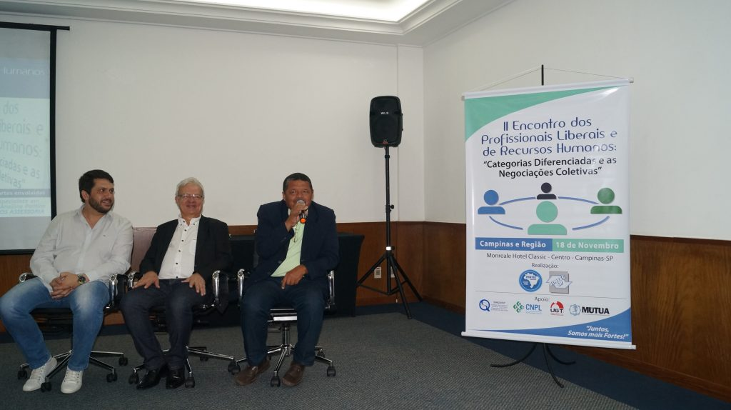 Da esquerda para a direita: Aelson Guaita, Wilson Wanderlei Vieira e José Raimundo Dias da Silva